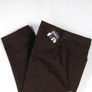 Counterparts Pants 6 Brown Capri Stretch New